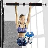 Ewendy klimmzugstange für türrahmen ohne Schrauben für Fitness Beintrainer-Schwerlast bis 200 kg/440lbs-Adjuatble Länge: 23,6~39,3 Zoll