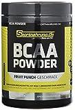 Sportnahrung.de BCAA 2:1:1 - hochdosiertes Pulver mit freien BCAAs im Verhältnis 2:1:1, Unterstützung von Muskelaufbau (Fruit Punch), 500 g