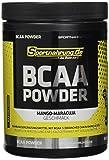 Sportnahrung.de BCAA 2:1:1 - hochdosiertes Pulver mit BCAAs im Verhältnis, Unterstützung von Muskelaufbau (Mango-Maracuja), 500 g