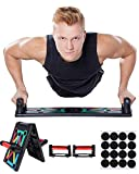 NMB Sports - 12 in 1 Push Up Board - innovativer Home-Workout Trainer inklusive Trainingsanleitung - 2 Jahre Zufriedenheitsversprechen - Sicherer Muskelaufbau für zu Hause
