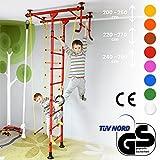 NiroSport FitTop M1 Sprossenwand für Kinder, (Rosa, Raumhöhe 240-290 cm)