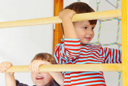 Sprossenwand für Kinder